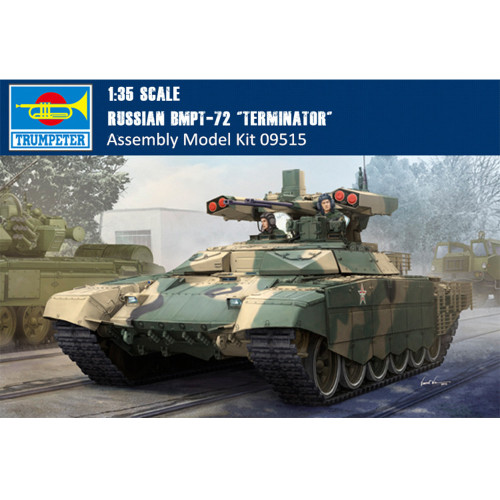 Trumpeter 09515 1/35 Scale Russian BMPT-72 Terminator Plastic Military Assembly Model Building Kits