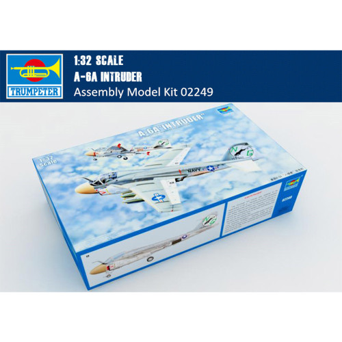 Trumpeter 02249 1/32 Scale A-6A Intruder Military Plastic Aircraft Assembly Model Kit