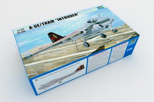 Trumpeter 02250 1/32 Scale A-6E TRAM Intruder Military Plastic Aircraft Assembly Model Kit