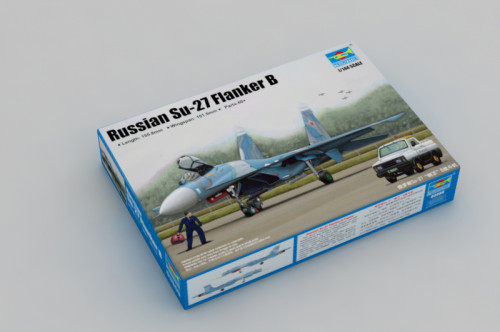 Trumpeter 03909 1/144 Scale Russian Sukhoi Su-27 Flanker B Military Plastic Aircraft Assembly Model Kit
