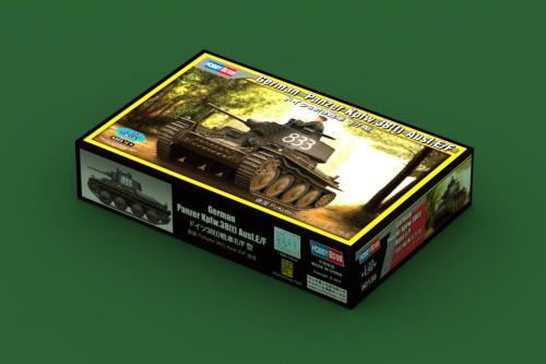 HobbyBoss 80136 1/35 Scale German Panzer Kpfw.38(t) Ausf.E/F Plastic Tank Assembly Model Kits