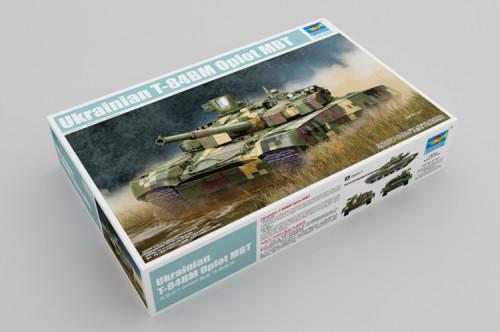 Trumpeter 09512 1/35 Scale Ukrainian T-84BM Oplot MBT Military Plastic Tank Assembly Model Kits