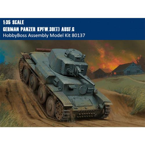 HobbyBoss 80137 1/35 Scale German Panzer Kpfw.38(t) Ausf.G Tank Military Assembly Model Kits