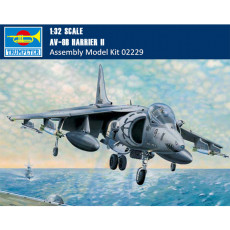 Trumpeter 02229 1/32 Scale AV-8B Harrier II Fighter Plastic Military Aircraft Assembly Model Kit