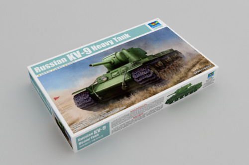 Trumpeter 09563 1/35 Scale Russian KV-9 Heavy Tank Armor Plastic Assembly Model Kits