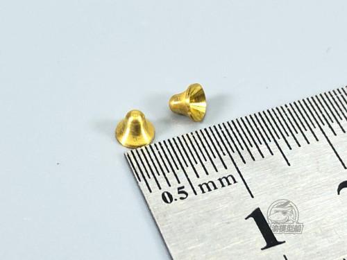 1/200 Scale Ship Model Naval Vessels Brass Bells TMW00017 2pcs/set