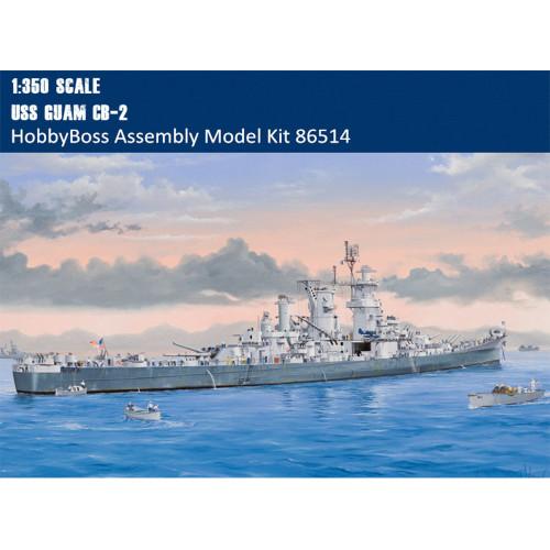 HobbyBoss 86514 1/350 Scale USS Guam CB-2 Warship Military Plastic Assembly Model Building Kits
