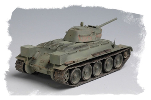 HobbyBoss 84806 1/48 Scale Russian T-34/76 (Model 1942 Factory No.112) Tank Military Assembly Model Kit