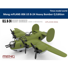Meng mPLANE-006 US B-24 Heavy Bomber Q Edition Plastic Assembly Model Kit