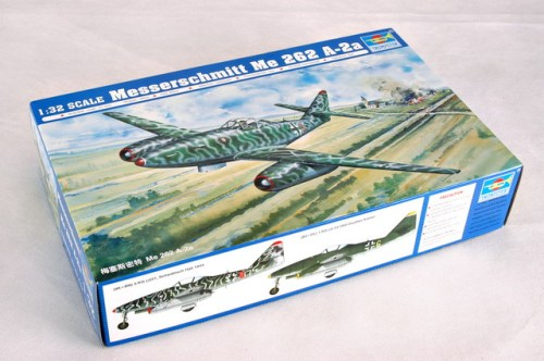 Trumpeter 02236 1/32 Scale Messerchmitt Me 262 A-2a Fighter Military Aircraft Assembly Model Kits