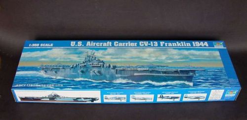 Trumpeter 05604 1/350 Scale US Aircraft Carrier CV-13 Franklin 1944 Military Plastic Assembly Model Kits