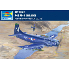 Trumpeter 02252 1/32 Scale A-1D AD-4 Skyraider Military Plastic Aircraft Assembly Model Kit