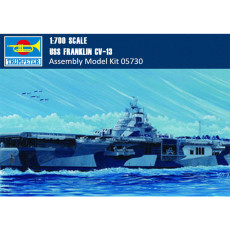 Trumpeter 05730 1/700 Scale USS FRANKLIN CV-13 Military Plastic Assembly Model Kits