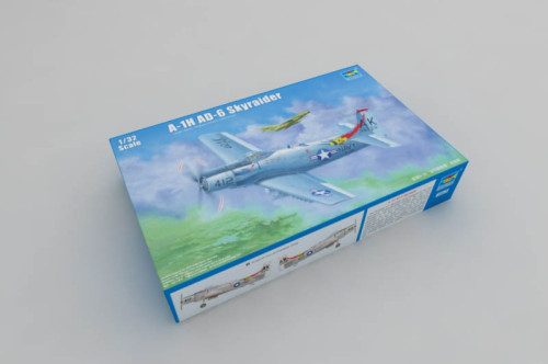 Trumpeter 02253 1/32 Scale A-1H AD-6 Skyraider Military Plastic Aircraft Assembly Model Kit