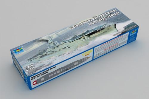 Trumpeter 06710 1/700 Scale German DKM Peter Strasser Military Plastic Assembly Model Kit