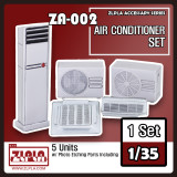 ZLPLA Genuine 1/35 Scale Air Conditinor Set Resin Assembly Model Kit ZA-002