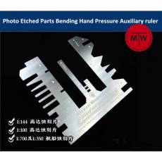 Tanks Ships Photo Etched Parts Bending Folding Tool Hand Pressure Auxiliary Ruler AJ0085
