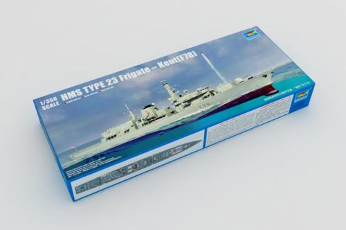 Trumpeter 04544 1/350 Scale HMS TYPE 23 Frigate – Kent(F78) Military Plastic Assembly Ship Model Kits