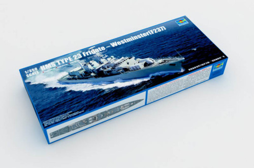 Trumpeter 04546 1/350 Scale HMS TYPE 23 Frigate – Westminster(F237) Military Plastic Assembly Ship Model Kit