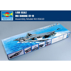 Trumpeter 05610 1/350 Scale USS Hancock CV-19 Aircraft Carrier Military Plastic Assembly Model Kits