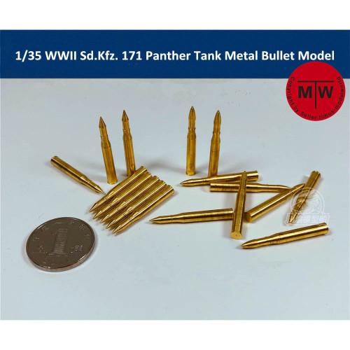 1/35 Scale WWII Sd.Kfz. 171 Panzerkampfwagen V Panther Tank Metal Bullet Model Kit TMW00025