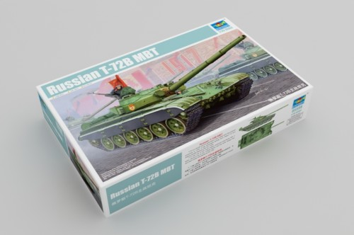 Trumpeter 05598 1/35 Scale Russian T-72B MBT Military Plastic Tank Assembly Model Kits