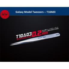 Galaxy Model T10A03 Tweezers Plastic Model Building Decal Hobby Craft Tool