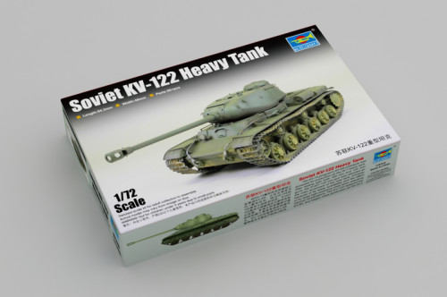 Trumpeter 07128 1/72 Scale Soviet KV-122 Heavy Tank Military Plastic Assembly Model Kits
