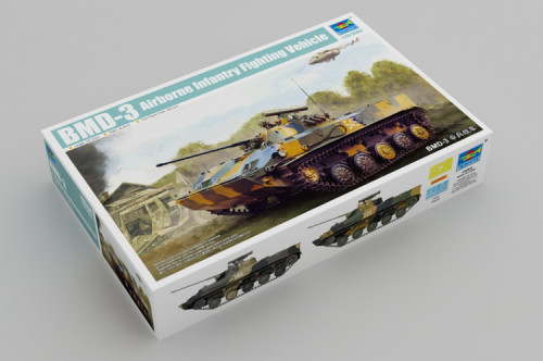 Trumpeter 09556 1/35 Scale BMD-3 Airborne Infantry Flghting Vehicle Military Plastic Assembly Model Kits