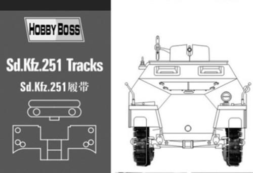 HobbyBoss 81005 1/35 Scale Sd.Kfz 251 Tank Track Links for Tamiya AFV & Dragon Model Kits