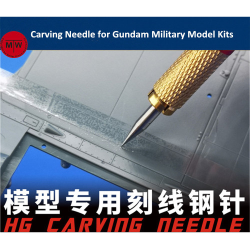 Galaxy Model Carving Needle Tools for Gundam Military Model Hobby Craft Kits Detail 3 kinds of needles available