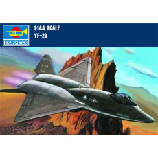 Trumpeter 01332 1/144 Scale USA YF-23 LightningⅡ Fighter Military Plastic Aircraft Assembly Model Kits