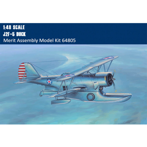 Merit 64805 1/48 Scale J2F-5 Duck Military Plastic Assembly Aircraft Model Kits