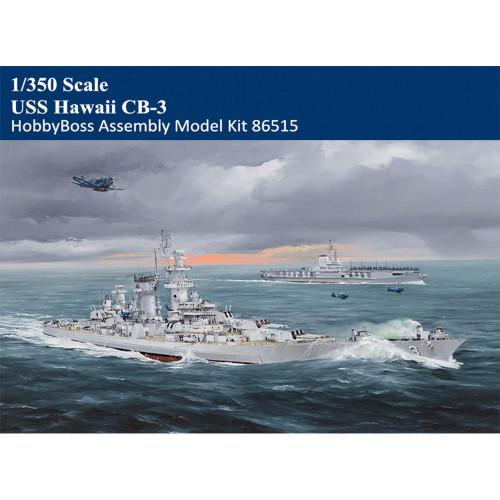 HobbyBoss 86515 1/350 Scale USS Hawaii CB-3 Military Plastic Assembly Model Kits