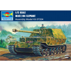Trumpeter 07204 1/72 Scale German Elefant Tank Destroyer Sd.Kfz.184 Armor Plastic Assembly Model Kits