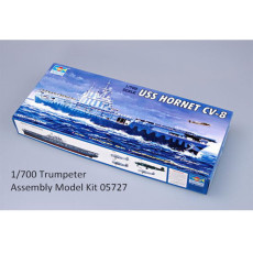 Trumpeter 05727 1/700 Scale USS HORNET CV-8 Plastic Military Assembly Model Kits