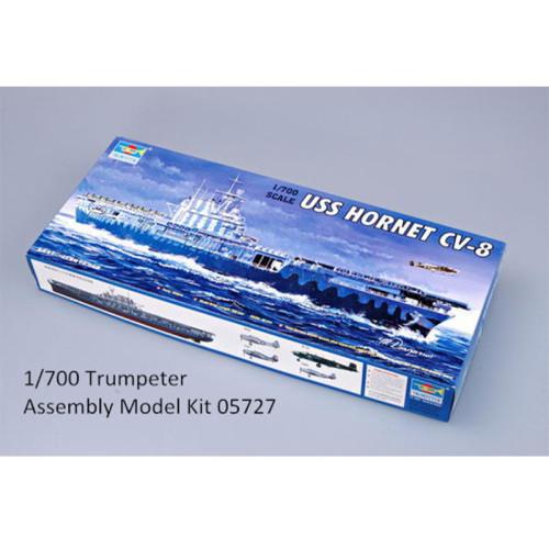 Trumpeter 05727 1/700 Scale USS HORNET CV-8 Plastic Military Assembly Model Kits