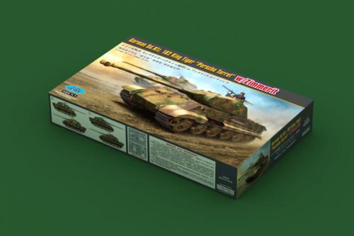 HobbyBoss 84530 1/35 Scale German Sd.Kfz182 King Tiger Turret w/Zimmerit Plastic Assembly Model Kits