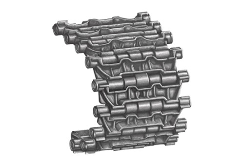 Trumpeter 02050 1/35 Scale T-72 Track Links (Workable) for Russian T-72 MBT Tank Model