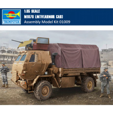 Trumpeter 01009 1/35 Scale M1078 LMTV(ARMOR CAB) Military Plastic Assembly Model Building Kits