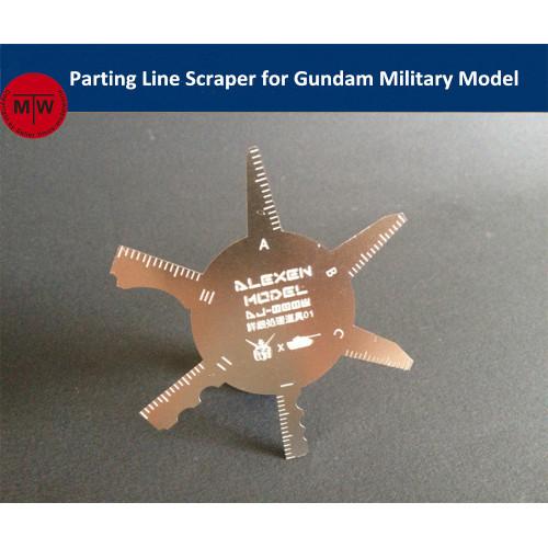 Parting Line Scraper Hand Tool General Use for Gundam Military Model Hobby Kits Version1 AJ0008