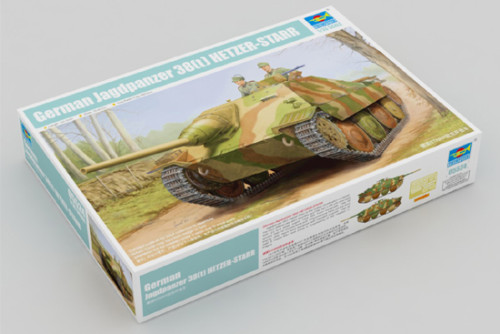 Trumpeter 05524 1/35 Scale German Jagdpanzer 38(t) Hetzer Starr Military Plastic Assembly Model Kits