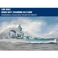 HobbyBoss 86507 1/350 Scale French Navy Strasbourg Battleship Military Plastic Assembly Model Kits