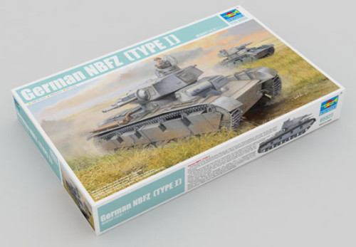 Trumpeter 05527 1/35 Scale German NBFZ(TYPE Ⅰ) Military Plastic Tank Assembly Model Kits