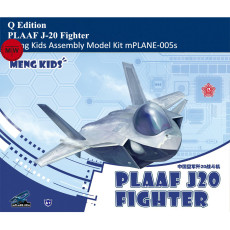 Meng Kids mPLANE-005s PLAAF J-20 Fighter Q Edition Plastic Aircraft Airplane Assembly Model Kits