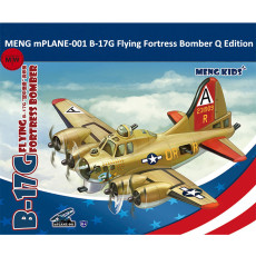 MENG mPLANE-001 B-17G Flying Fortress Bomber Q Edition Plastic Aircraft Airplane Assembly Model Kits