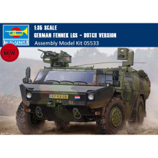 Trumpeter 05533 1/35 Scale German Fennek LGS - Dutch Version Military Plastic Assembly Model Kits