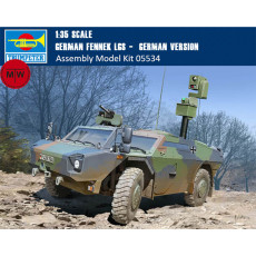 Trumpeter 05534 1/35 Scale German Fennek LGS - German Version Military Plastic Assembly Model Kits