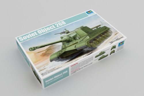 Trumpeter 05544 1/35 Scale Soviet Object 268 Military Plastic Assembly Model Kits