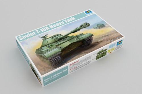 Trumpeter 05547 1/35 Scale Soviet T-10A Heavy Tank Plastic Military Assembly Model Building Kits